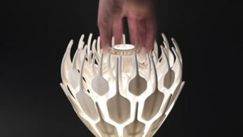 BLOOM: La lampe qui s'épanouit en lumière.